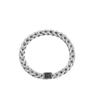 John Hardy Silver Classic Chain Women's Gemstone Link Bracelet