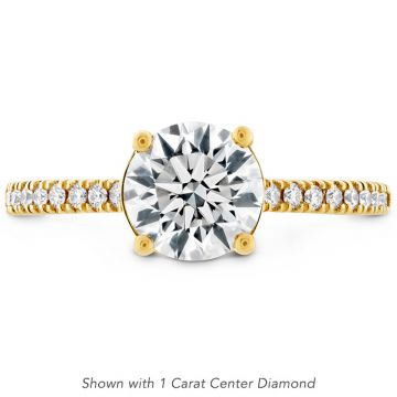 Hearts on Fire 18k Yellow Gold Sloane Engagement Ring