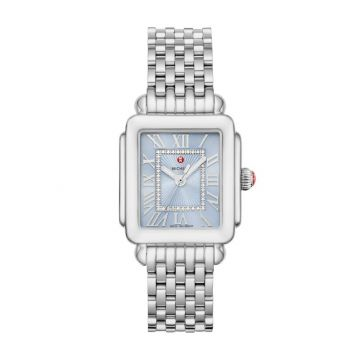 Deco Madison Stainless Diamond Dial Complete Watch