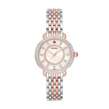 Sidney Classic Two-Tone Pink Gold Diamond Complete Watch
