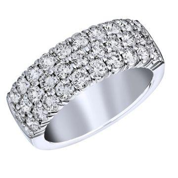 Goldsmith Gallery 18k White Gold Diamond Ring
