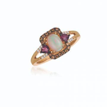 Le Vian Chocolatier® 14k Strawberry Gold Diamond & Gemstone Ring