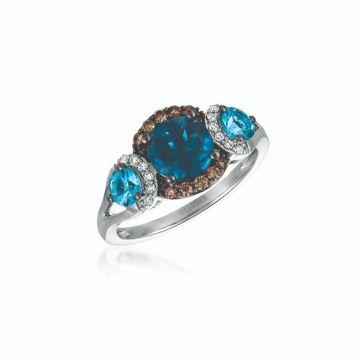 Le Vian Chocolatier® 14k Vanilla Gold Diamond & Gemstone Ring