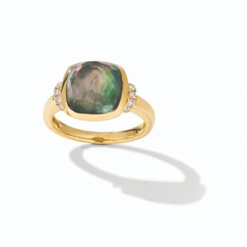 Le Vian Creme Brulee® 14k Honey Gold Diamond & Gemstone Ring