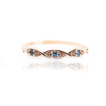 Yogo 10k Rose Gold Gemstone Ring - 001-820-00439