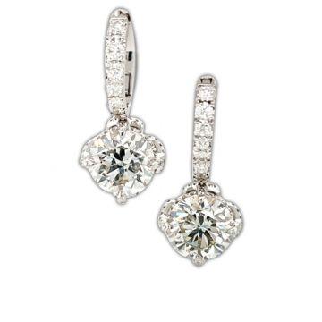 Custom made Diamond Earrings