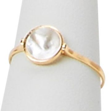 Honora 14k Yellow Gold Pearl Ring
