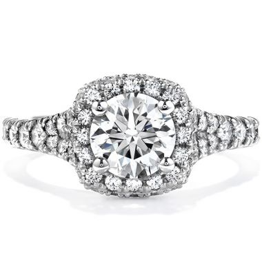 Hearts on Fire 1 ctw. Acclaim Engagement Ring in 18K White Gold