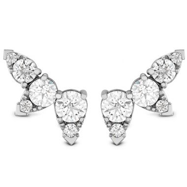 Hearts on Fire 1.4 ctw. Aerial Diamond Ear Vine Earrings in 18K White Gold