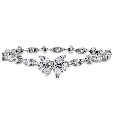 Hearts on Fire 4.6 ctw. Aerial Diamond Line Bracelet in 18K White Gold