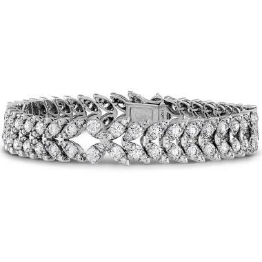 Hearts on Fire 10.5 ctw. Aerial Diamond Bracelet in 18K White Gold