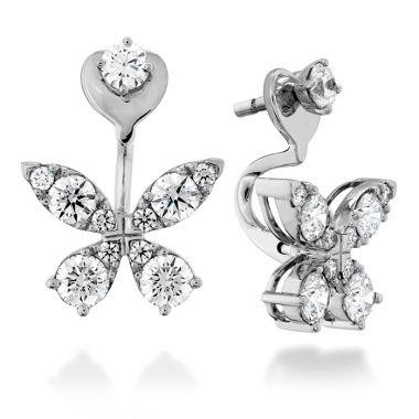 Hearts on Fire 1.15 ctw. Aerial Diamond Earrings in 18K Yellow Gold