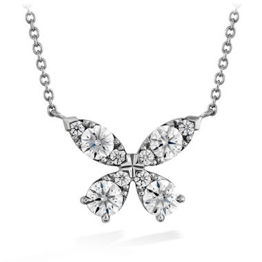 Hearts on Fire 0.8 ctw. Aerial Diamond Pendant in 18K White Gold