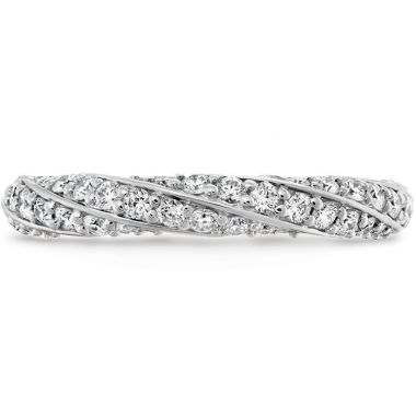 Hearts on Fire 0.5 ctw. Atlantico Pave Band in Platinum