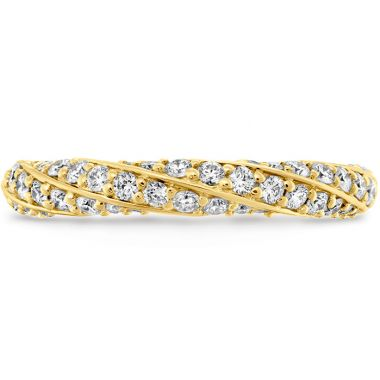 Hearts on Fire 0.5 ctw. Atlantico Pave Band in 18K Yellow Gold