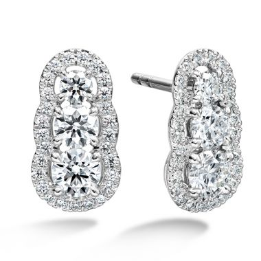 Hearts on Fire 1.27 ctw. Aurora  Earrings in Platinum
