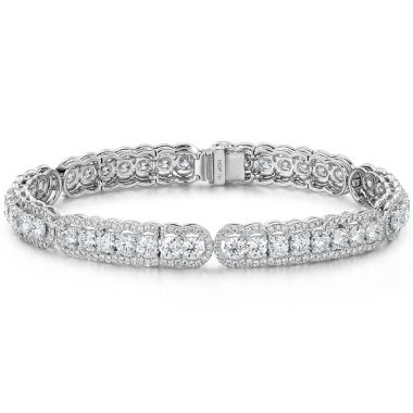 Hearts on Fire 8.8 ctw. Aurora Line Bracelet in Platinum