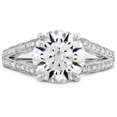 Hearts on Fire The Bel Fiore Ring in Platinum