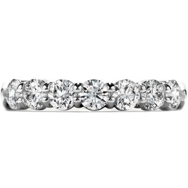 Hearts on Fire 0.5 ctw. Seven-Stone Band in Platinum