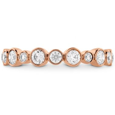 Hearts on Fire 0.62 ctw. HOF Bezel Diamond Band in 18K Rose Gold