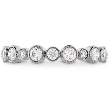 Hearts on Fire 0.62 ctw. HOF Bezel Diamond Band in 18K White Gold