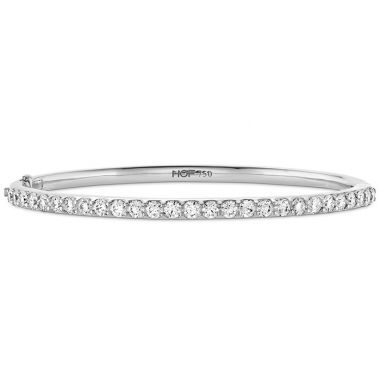 Hearts on Fire 2 ctw. HOF Classic Prong Set Bangle - 270 in 18K White Gold