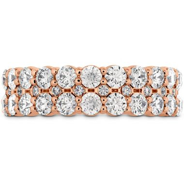 Hearts on Fire 1.8 ctw. HOF Classic Double Row Band in 18K Rose Gold