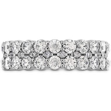 Hearts on Fire 1.8 ctw. HOF Classic Double Row Band in 18K White Gold