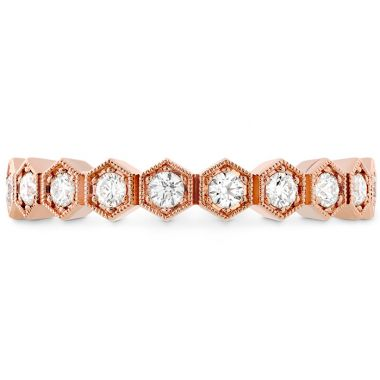 Hearts on Fire 0.38 ctw. HOF Hex Diamond Band in 18K Rose Gold
