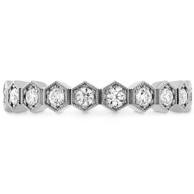 Hearts on Fire 0.38 ctw. HOF Hex Diamond Band in 18K White Gold