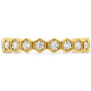 Hearts on Fire 0.38 ctw. HOF Hex Diamond Band in 18K Yellow Gold