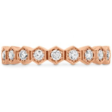Hearts on Fire 0.62 ctw. HOF Hex Diamond Eternity Band in Platinum