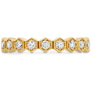 Hearts on Fire 0.62 ctw. HOF Hex Diamond Eternity Band in 18K Yellow Gold