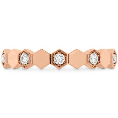 Hearts on Fire 0.3 ctw. HOF Hex Eternity Band in 18K Rose Gold