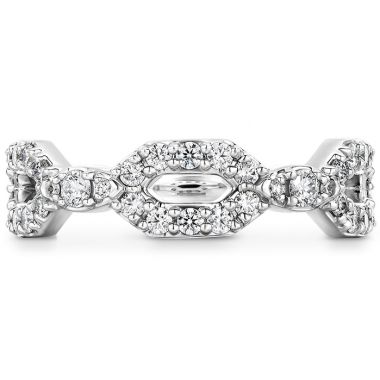 Hearts on Fire 0.49 ctw. HOF Open Regal Diamond Band in Platinum