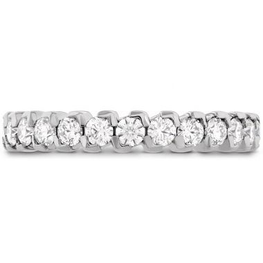 Hearts on Fire 0.65 ctw. HOF Pointed Diamond Band in 18K White Gold