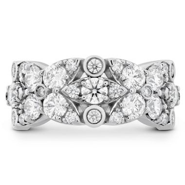 Hearts on Fire 1.85 ctw. HOF Regal Diamond Ring in 18K White Gold