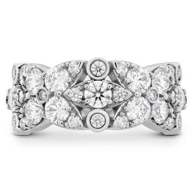 Hearts on Fire 1.85 ctw. HOF Regal Diamond Ring in 18K White Gold