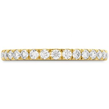 Hearts on Fire 0.35 ctw. HOF Signature Bezel Basket Diamond Band in 18K Yellow Gold