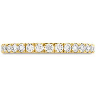 Hearts on Fire 0.42 ctw. HOF Signature Bezel Basket Diamond Band in 18K Yellow Gold