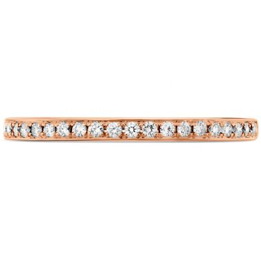 Hearts on Fire 0.12 ctw. HOF Signature Diamond Band in 18K Rose Gold