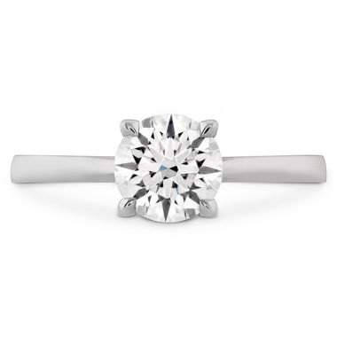 Hearts on Fire HOF Signature Solitaire Engagement Ring in Platinum