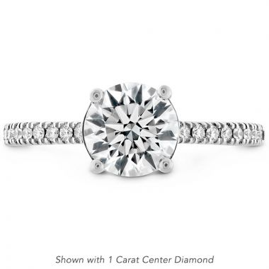 Hearts on Fire Platinum Sloane Solitaire Engagement Ring