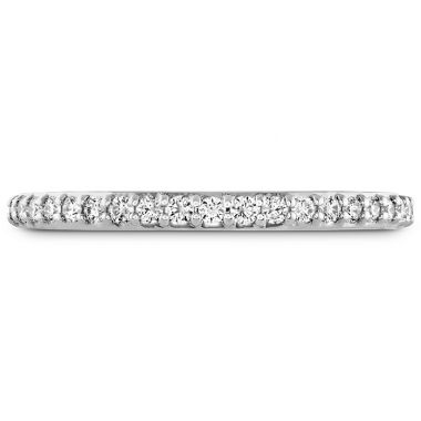 Hearts on Fire 0.19 ctw. Behati Say It Your Way Matching Band in 18K White Gold