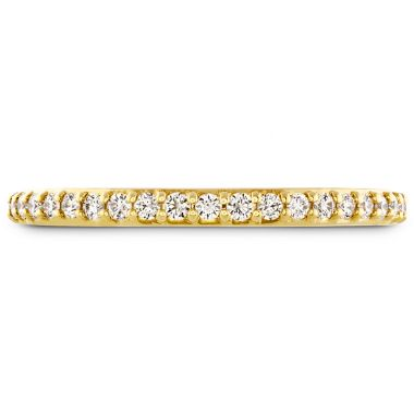 Hearts on Fire 0.19 ctw. Behati Say It Your Way Matching Band in 18K Yellow Gold