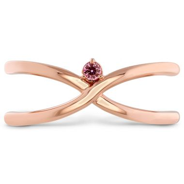 Hearts on Fire Love Code - Love Wrap Band with Sapphires in 18K Rose Gold