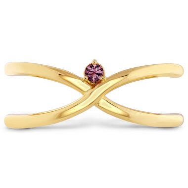 Hearts on Fire Love Code - Love Wrap Band with Sapphires in 18K Yellow Gold