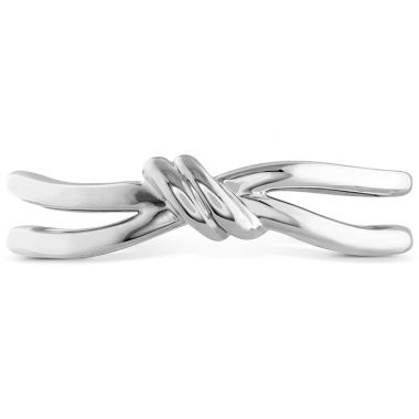 Hearts on Fire Love Code - Forget-You-Never Band in 18K White Gold