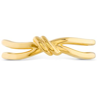 Hearts on Fire Love Code - Forget-You-Never Band in 18K Yellow Gold