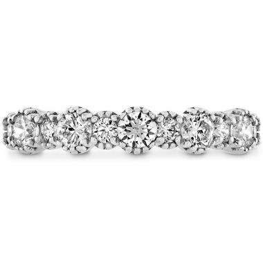 Hearts on Fire 0.67 ctw. Behati Beaded Band in 18K White Gold